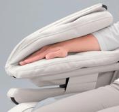 Handauflage des Massagesessels