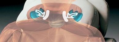 Massage im Nackenbereich